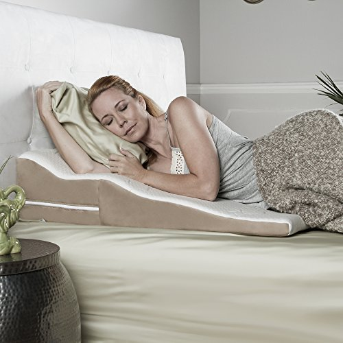 Avana-Contoured-Bed-Wedge-Support-Pillow-with-Bamboo-Cover-for-Side-Sleepers-0