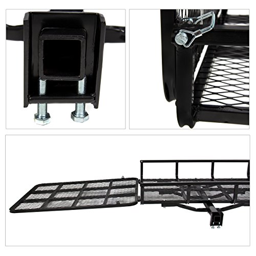 Best-Choice-Products-SKY1700-Mobility-Wheelchair-Carrier-Electric-Scooter-Rack-Hitch-Disability-Medical-Ramp-0-1