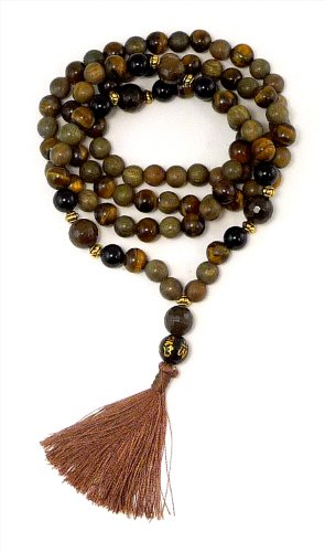 Black-Tiger-Mala-108-Beads-Tigers-Eye-Faceted-Agate-Agar-Aloe-Wood-Black-Onyx-Dye-Enhanced-0-1