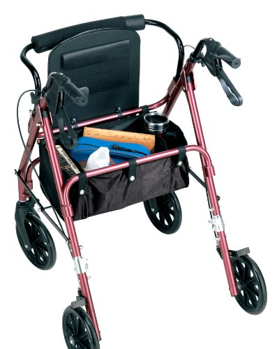 Carex-Rolling-Walker-Rollator-with-Padded-Seat-and-Backrest-0-0