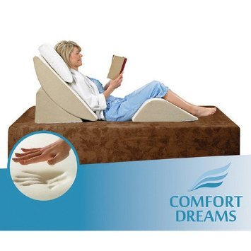 Comfort-Dreams-Zero-Gravity-Adjustable-3-Piece-Wedge-System-Head-and-Foot-support-with-this-Wedge-Pillow-Sleep-well-with-the-comfort-of-Memory-FoamGreat-for-an-Acid-Reflux-pillow-comfort-when-kids-are-0
