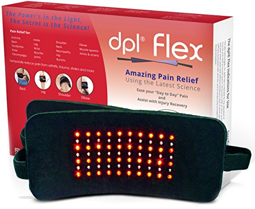 DPL-FlexPad-Pain-Relief-System-for-Back-and-Knee-Pain-880nm-Infrared-and-660nm-Red-LED-0