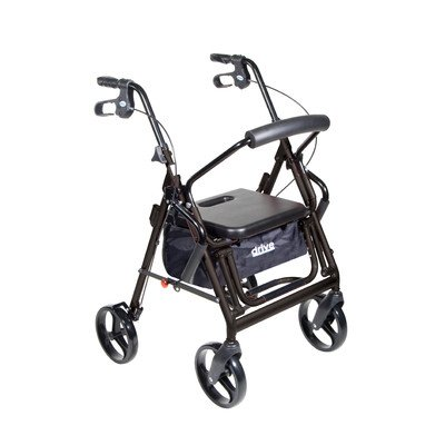 Drive-Medical-Duet-Transport-ChairRollator-0