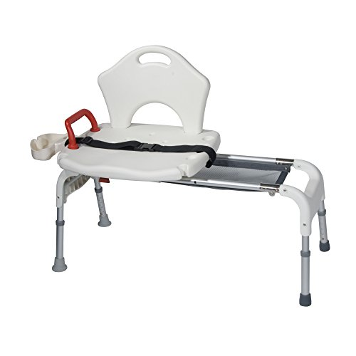 Drive-Medical-Folding-Universal-Sliding-Transfer-Bench-White-0-0