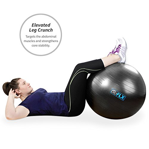 Exercise-Ball-GoFLX-55cm-65cm-75cm-Yoga-Birthing-Stability-Swiss-Ball-with-Pump-200kg-440lbs-Weight-Capacity-0-1