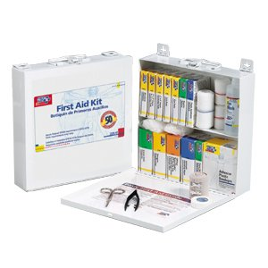First-Aid-Only-226U-First-Aid-Station-for-50-People-196-Pieces-OSHA-Compliant-Metal-Case-0