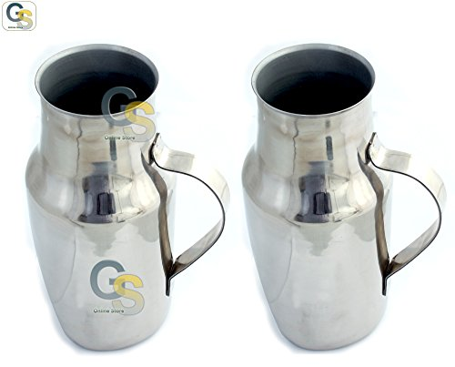 GS-2-PCS-STAINLESS-STEEL-MALE-URINAL-WITH-HANDLE-BRAND-NEW-0
