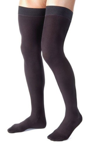 Jobst-For-Men-Thigh-High-20-30mmHg-Ribbed-Closed-Toe-S-Black-0