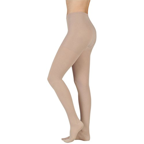 Juzo-Soft-Pantyhose-Short-Open-Toe-20-30mmHg-I-Beige-0