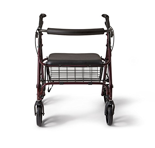 Medline-Bariatric-Rollator-WalkerSeat-400-lb-Capacity-0-1