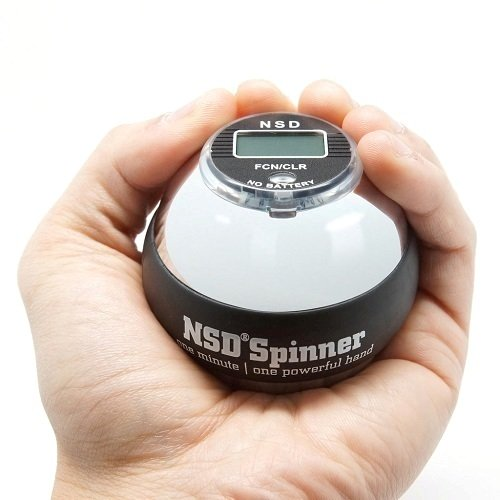 NSD-Power-Winners-Precision-Sterling-Spinner-Gyroscopic-Wrist-and-Forearm-Exerciser-with-Digital-Speedometer-and-Heavyweight-Zinc-Rotor-and-Stainless-Steel-Shell-0