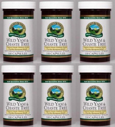 Naturessunshine-Wild-Yam-Chaste-Tree-Herbal-Combination-Supplement-100-Capsules-Pack-of-6-0