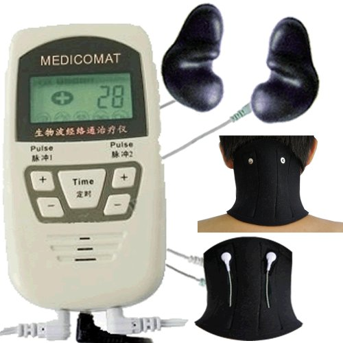 Neck-Pain-and-Headache-Relief-Medicomat-10I-Neck-Ache-Migraines-Treatment-Arthritis-Neck-Conductive-Neck-Braces-Give-Support-Warmth-Acupuncture-Massage-Therapy-0-0