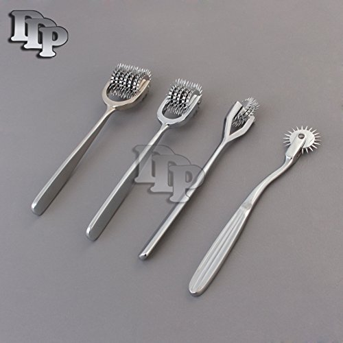 SET-OF-4-PCS-DIAGNOSTIC-NEUROLOGICAL-WARTENBERG-SENSORY-PINWHEEL-PIN-WHEEL-1-3-5-7-HEAD-DDP-BRAND-0