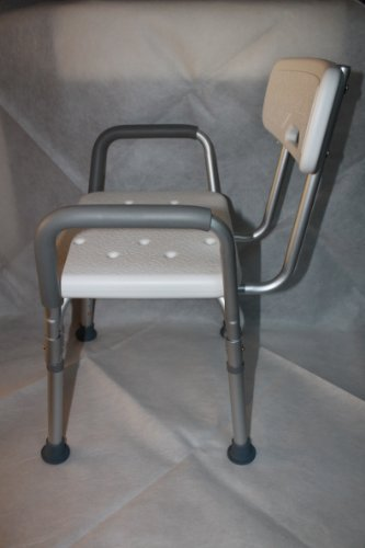 Shower-Chair-with-Backrest-and-Armrest-Easy-to-assemble-No-tools-needed-0-1