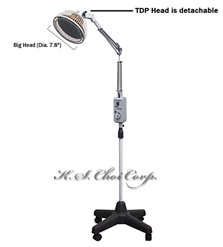 TDP-Far-Infrared-Mineral-Heat-Lamp-with-a-Detachable-Head-Latest-Version-KS-9800-Floor-Model-0-0