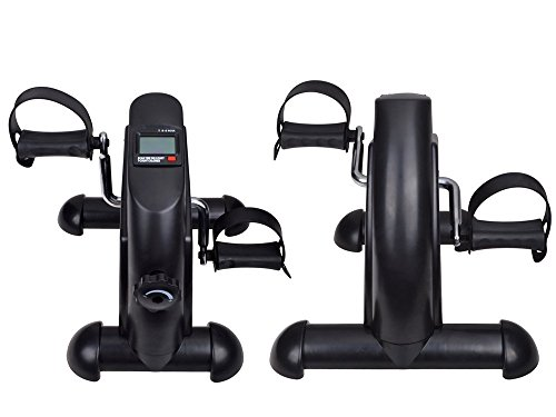 TMS-Mini-Pedal-Exerciser-LCD-Counter-Exercise-Bike-Indoor-Fitness-Resistance-LegArm-0-0