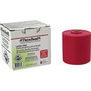 Theraband-Latex-Free-Resistance-Exercise-Band-Red-Medium-25-yds-0