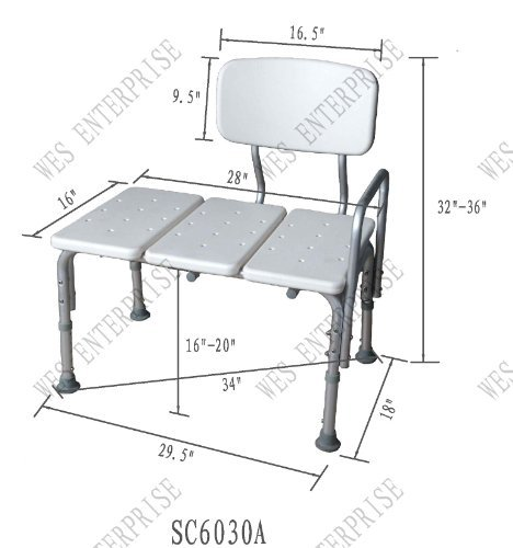 Transfer-Bath-Bench-Easy-to-assemble-No-tools-needed-New-improved-model-0-0