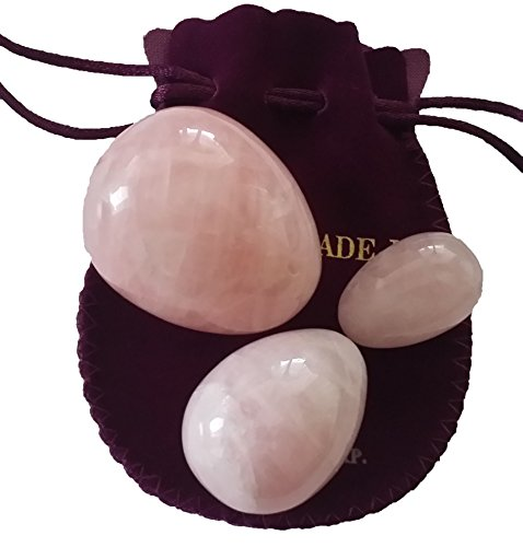 Yoni-Eggs-Set-of-3-Rose-Quartz-Jade-Eggs-Undrilled-Full-Range-3-Sizes-LMS-for-Training-to-Gain-Better-Bladder-Control-and-Incontinence-Treatment-0-0