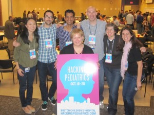 The organizers of Hacking Pediatrics!