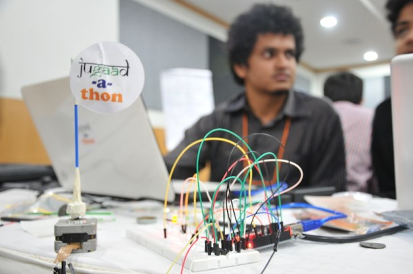 CAMTech's Jugaadathon, a 2014 medical technology hackathon in India. Photo provided by CAMTech.