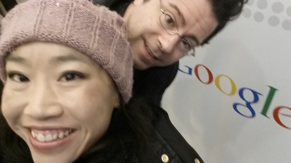 Jim and Jen at Google