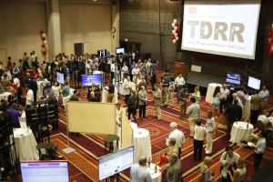 Tech Drugs Rock n' Roll event took place on July 14, 2015 in BU's Metcalf Ballroom. Photograph by Esther Ro.
