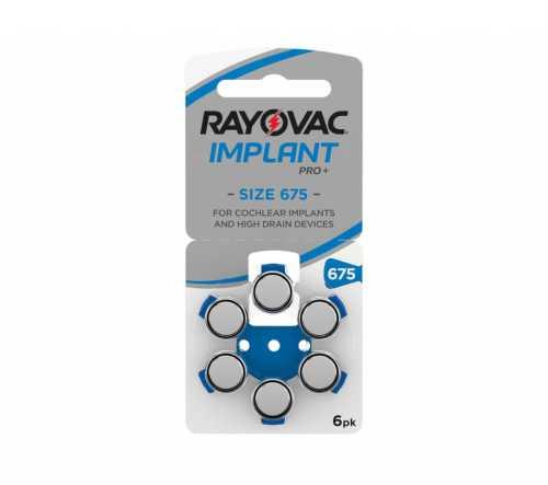 מארז 60 סוללות לשתלים - RAYOVAC 675p 31