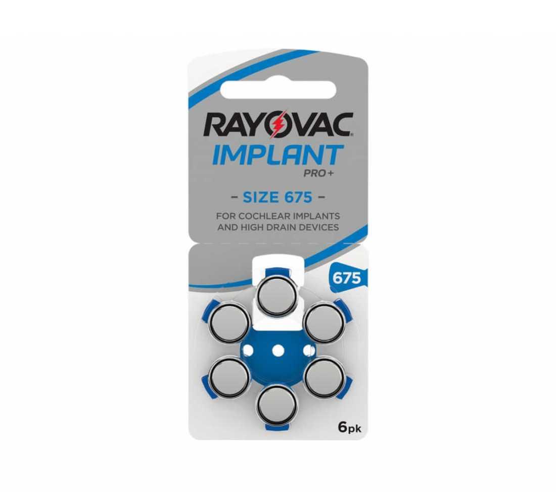 מארז 60 סוללות לשתלים - RAYOVAC 675p 7