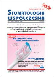 Stomatologia Współczesna nr 4/2007