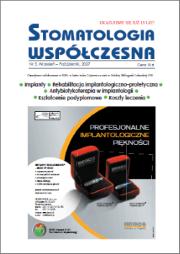 Stomatologia Współczesna nr 5/2007