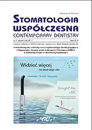 Stomatologia Współczesna nr 1/2017