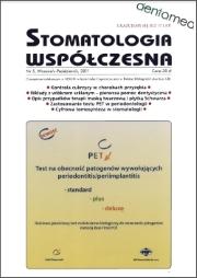 Stomatologia Współczesna nr 5/2011