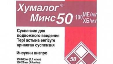 Photo of Хумалог Мікс 50: інструкція по застосуванню суспензії