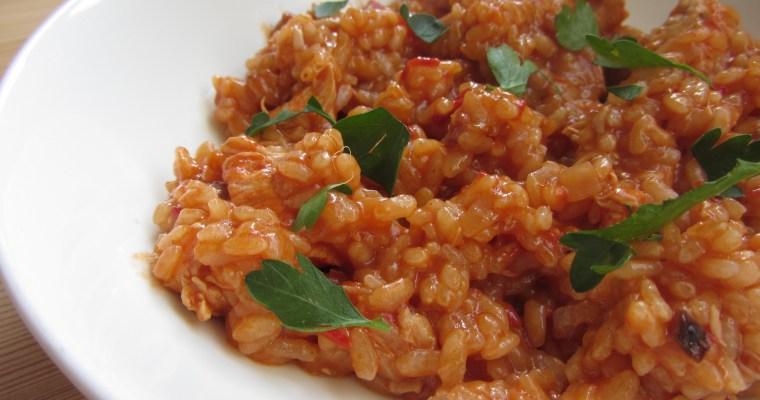 Arroz Con Pollo (vistas sautējums ar rīsiem)