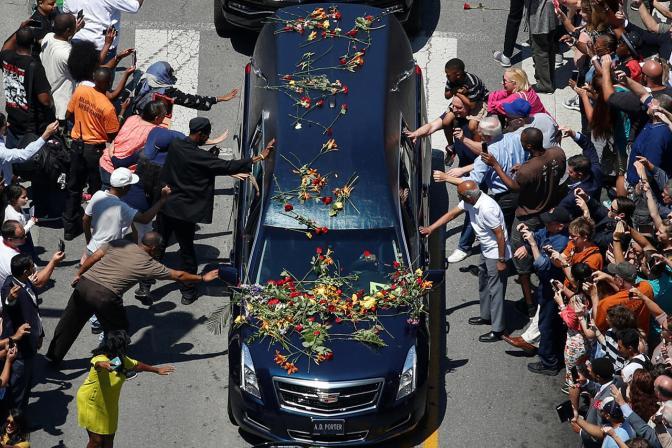 Похороны Муххамеда Али, 10 июня Фото: Adrees Latif / Reuters / Scanpix / LETA