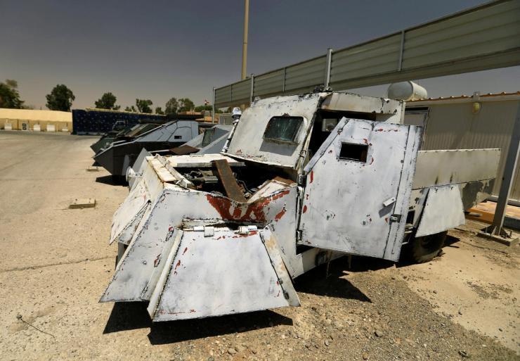 88ksbbdsxqwkPNZKQOk7GA Джихад-мобили во всей красе. Машины смерти представлены в Ираке