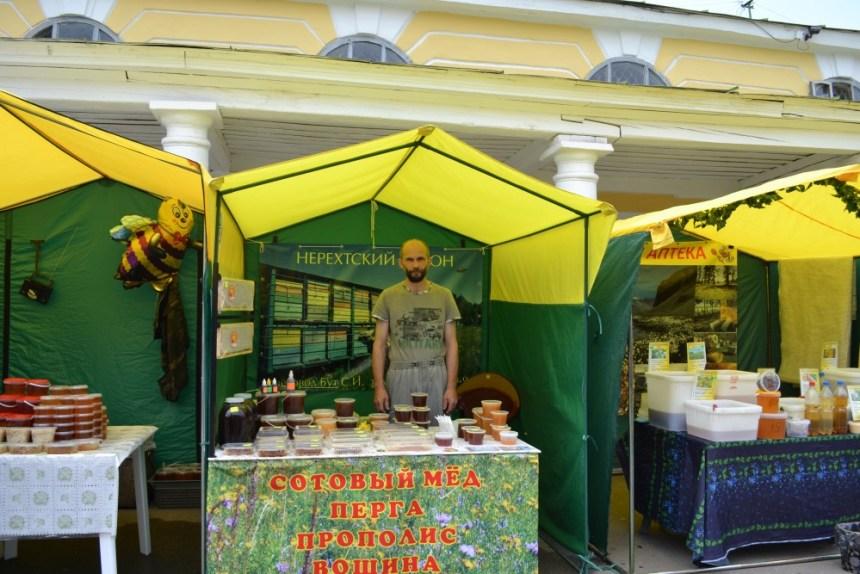 Торговля медом в Костроме