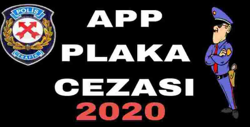 APP Plaka Cezası 2020