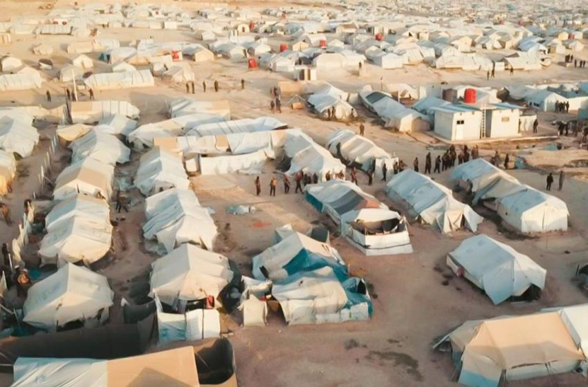 Members of ISIS frequently attempt to escape from the al-Hol camp in northeast Syria