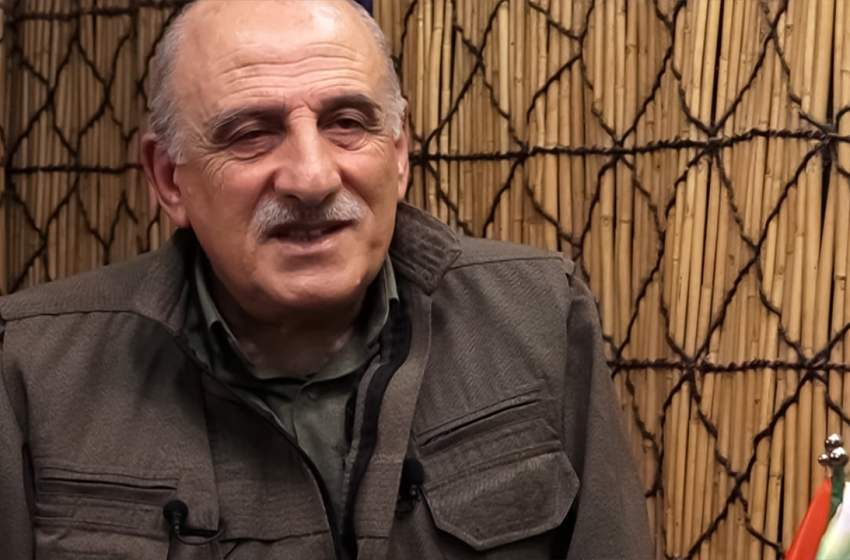 PKK Executive Committee member Duran Kalkan: 'They don't want a democratic solution in Syria'