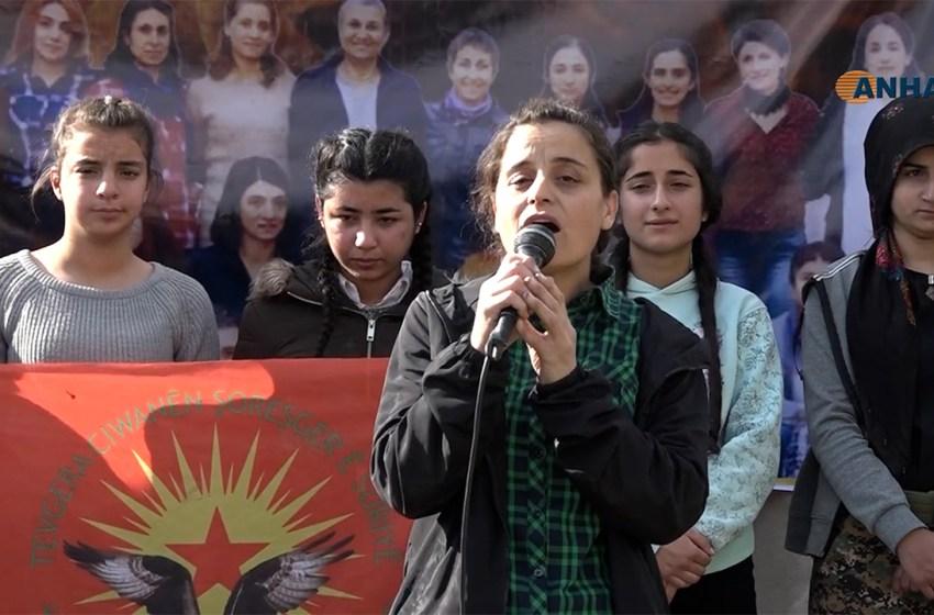 Groups in Rojava hold vigils for Turkey's prison hunger strikers
