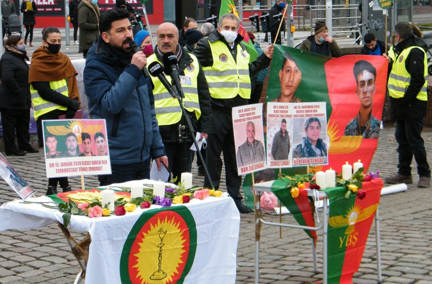 Vigil for Sinjar's autonomy launched in Hanover