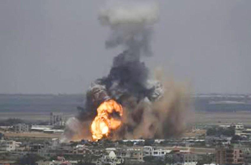 Israel launches air strikes targeting Hamas