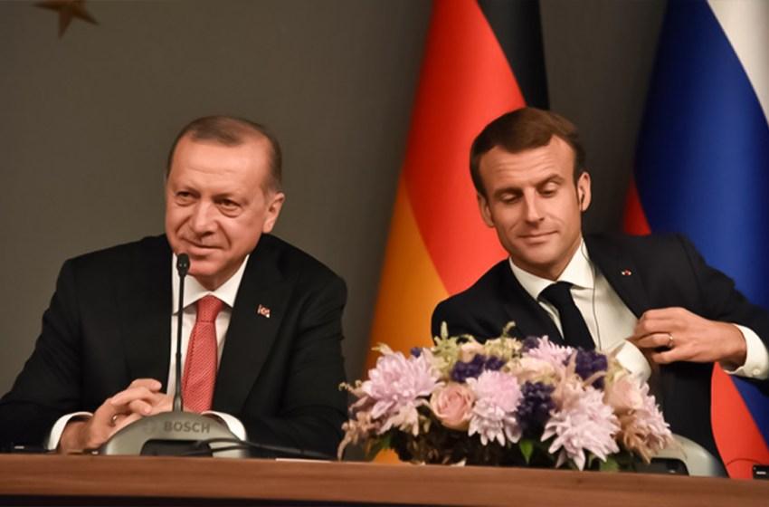 Details of President Erdoğan's letter to President Macron leaked
