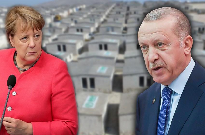 The brick houses of Merkel in Syria