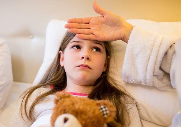 Anzeichen von Lungenentzündung in einem Kind