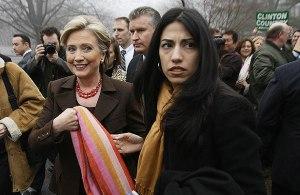 Huma Abedin a Hillary Clinton