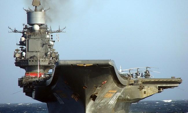 Lietadlový krížnik, Admirál Kuznecov